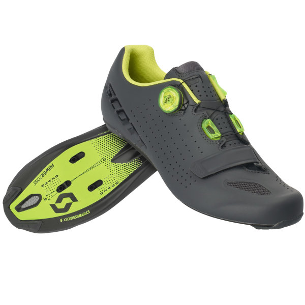 Scott Road Vertec Boa Schuh matt grey/neon yellow
