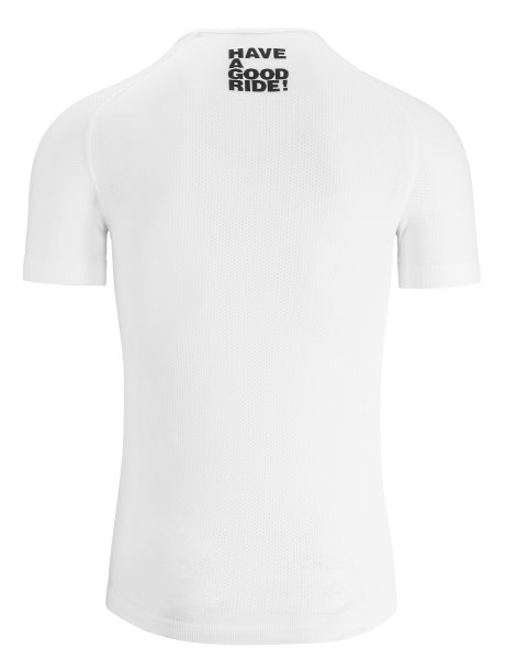 Assos Skinfoil SS Summer Base Layer white