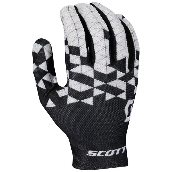 Scott RC Team Handschuhe langfinger black/white