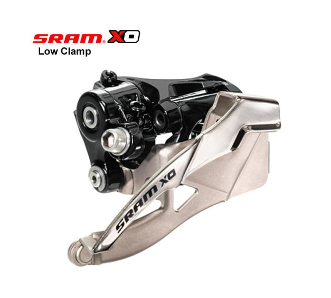 SRAM X0 Umwerfer 2x10 Low Clamp